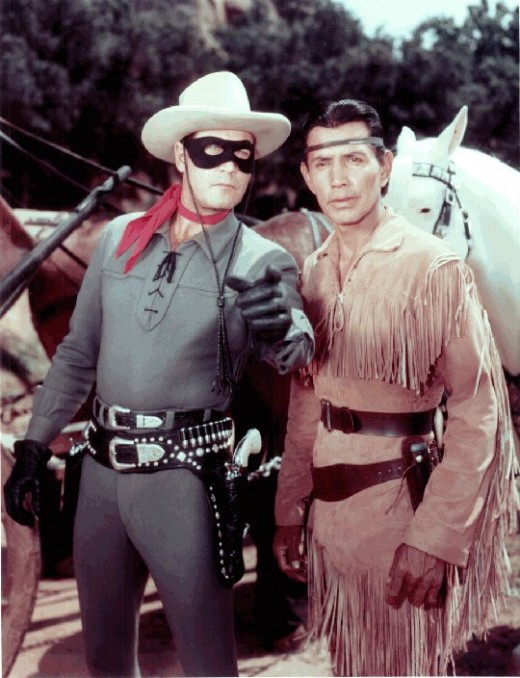 Clayton Moore and Jay Silverheels were The Lone Ranger and Tonto on television and the movies.
