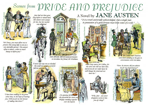 Scenes from Pride and Prejudice by