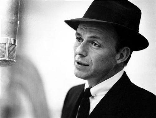 (3) Francis Albert Sinatra a/k/a Blue Eyes,singer & actor.