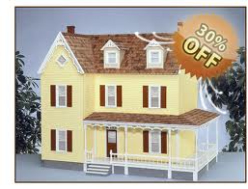 Doll House were first produced in the 1920s and they replicate a real home.