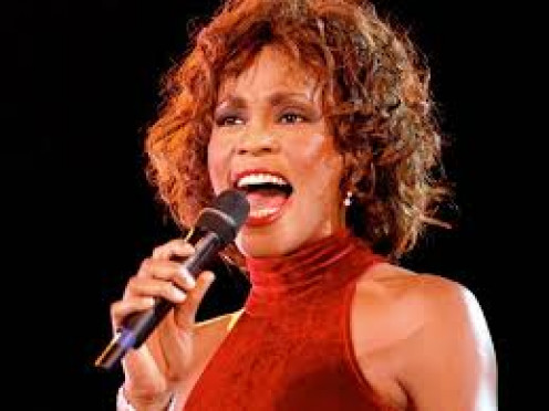 Whitney Houston was one of the most talented females to ever sing on a microphone. She will be sorely missed. R.I.P. Whitney