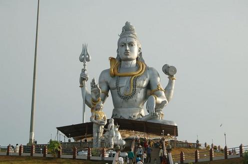 Lord Shiva (Location: Muruteshwar, Karnataka)
