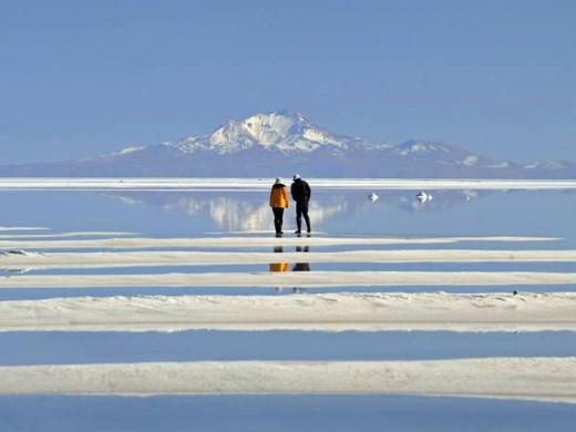 Salt Flats of Salar de Uyuni, Bolivia