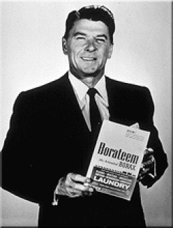 Ronald Reagan, host