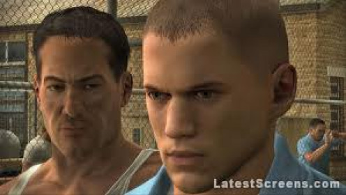 Michael Scoffield is a part of the Prison Break video game but you do not play as Scoffield at any time.