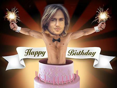 """Happy Birthday Baby!""  Love, Keith"