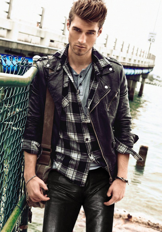 Girls Are black leather jackets still in for a male? - GirlsAskGuys