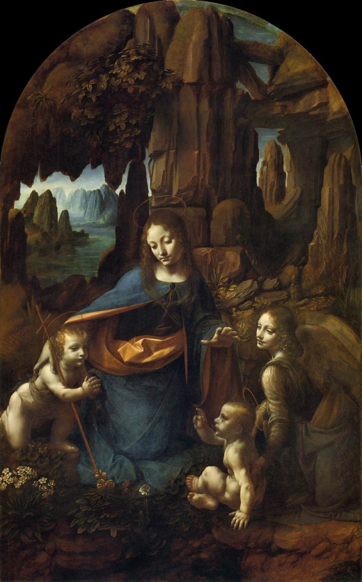Virgin of the Rocks at the National Gallery