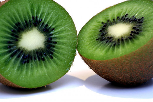 Kiwi fruits are actually from China, despite their name.