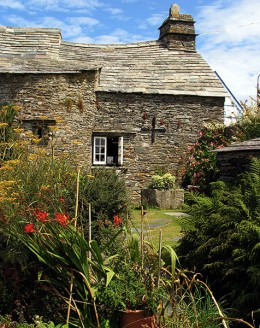 What to Do in Cornwall in July: National Trust, Tintagel Old Post Office & Garden.