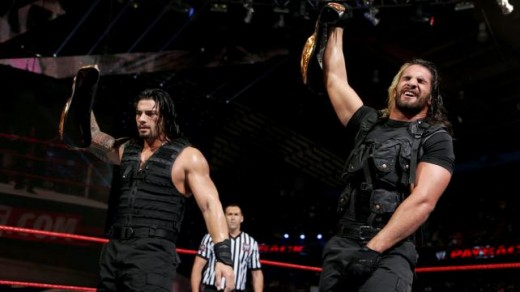 Reigns and Rollins Retain the Tag Team Titles