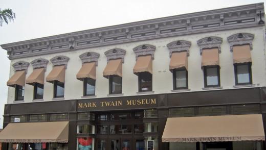 The Mark Twain museum