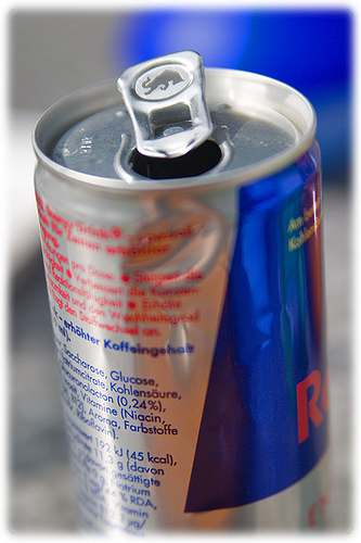 Red Bull can by viZZZual.com on Flickr