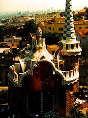 Gaudi buildings