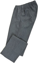 Wheelchair jeans with in an elasticated waist style