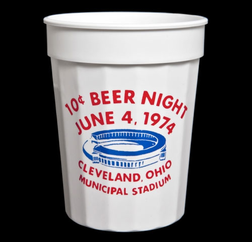 Throughout The Game, Fans Took Advantage Of The Ten Cent Beer