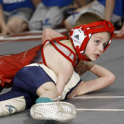 Headgear that is designed for all ages can often be too large and uncomfortable for wrestlers between the ages of 8-12.