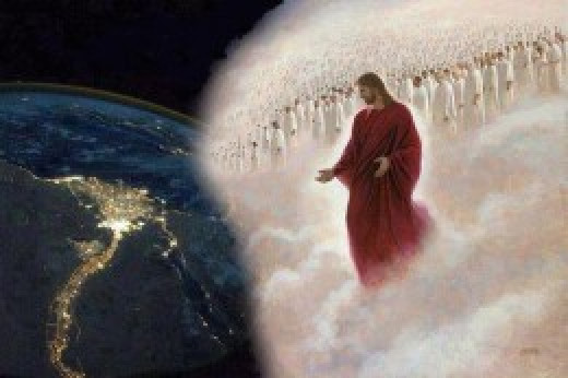 We are seated with Christ in heavenly places, this where our spirits operate from. Above and not beneath.