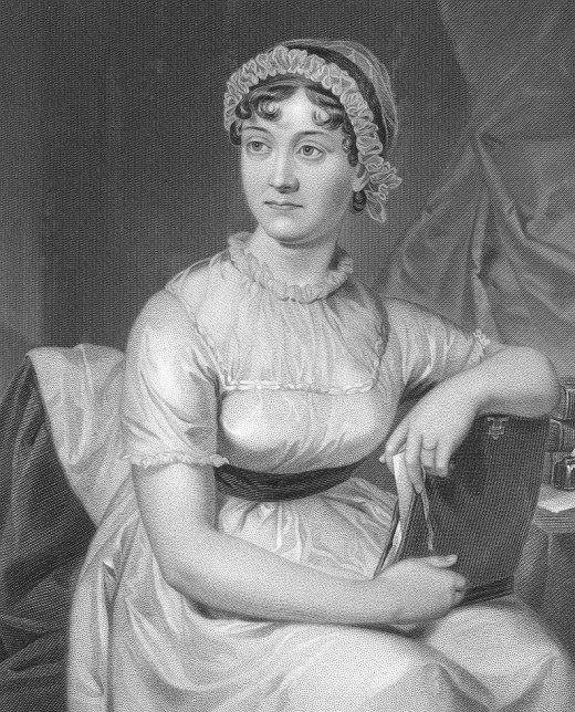A sketch of Jane Austen, author of some of the most beloved novels in the English language