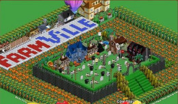 Play Farmville on Facebook with your family and friends. Build farms, plant crops and take care of the farm animals.