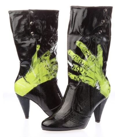 "Iron Fist ""One Hand in the Grave"" boots"