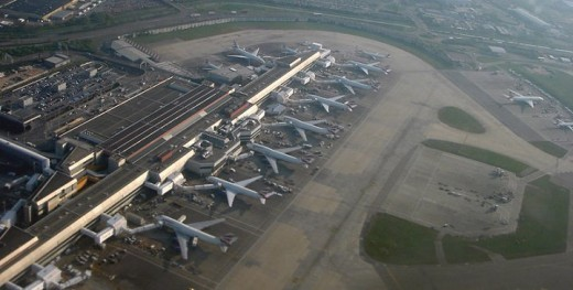Heathrow Airport in London
