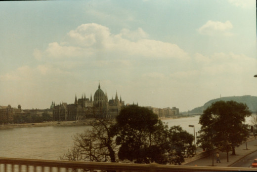 Parliament across the Danube