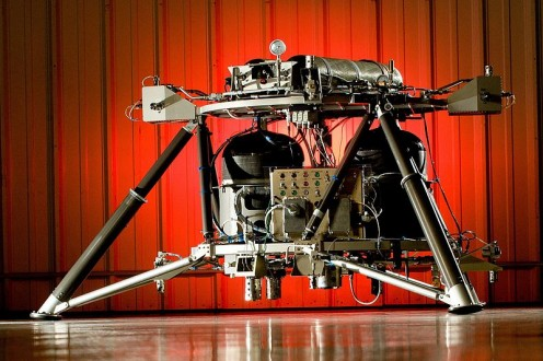 NASA engineers successfully integrated and completed system testing on a new robotic lander at Teledyne Brown.