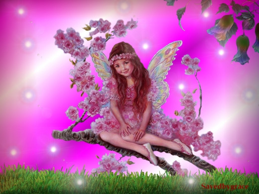Lovely beautiful fairy