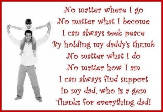 Thank You Messages For Dad Poems And Quotes To Write On A Thank You