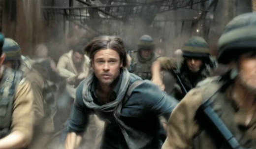 Brad Pitt in World War Z (2013)
