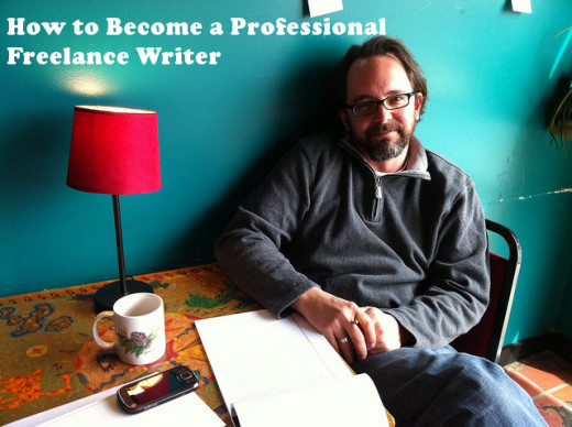 Richard Alley, freelance writer, photographed at Otherlands Coffee