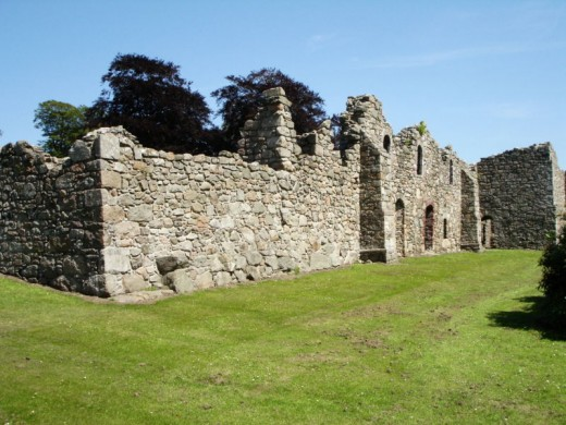 Although now in ruins Deer Abbey is still active with paranormal events.