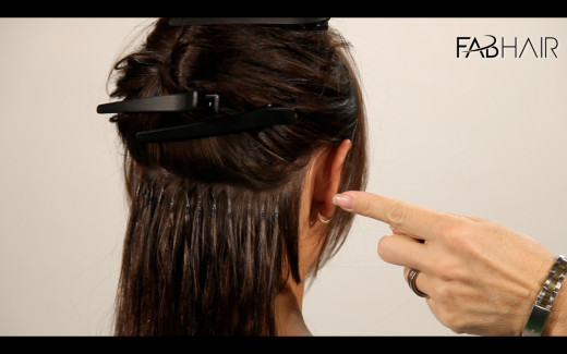 Fusion Hair Styles: How To Do: U TIP Hair Extensions
