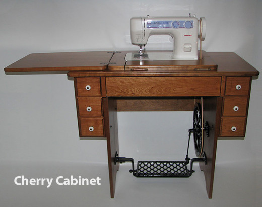 Treadle sewing machines are still being made and used by the Amish.
