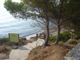 Cala La Buena, Beach Cove in L'Ampolla, Spain