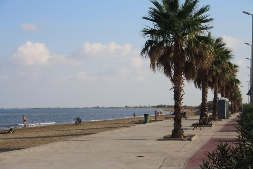 Sandy Beach in L'Ampolla, Spain