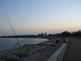 L'Ampolla, Spain - Fishing attraction