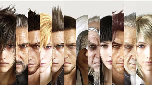 The main cast of Final Fantasy versus XIII/Final Fantasy XV