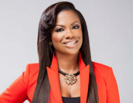 Real housewives of Atlanta star and artist Kandi Burruss