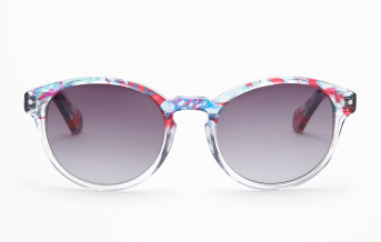 Kenneth Cole Transparent Painted sunglasses