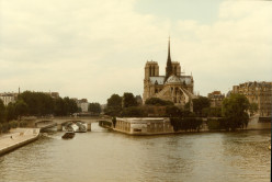 My Adventures Touring Europe in 1982 (23) Paris