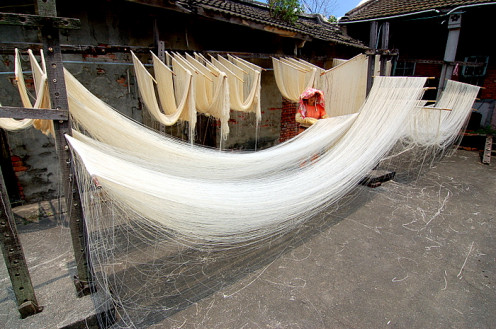 Chinese noodle-making
