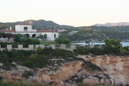 View from Les Oliveres Hotel Resort & Spa, El Perello, Spain  - house for rent
