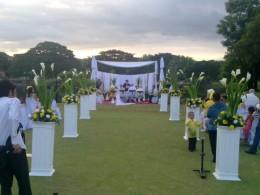 Wedding Venue with Garden Space