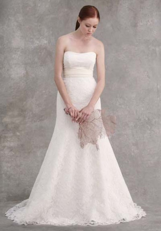 Cheap yet Beautiful Wedding Gown