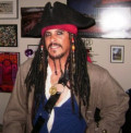 Luke Esposito Plays Captain Jack Sparrow