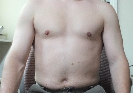 Me after 2 weeks of toning.