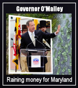 Maryland Governor Martin O'Malley speaking on Rain Tax