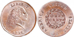 1793 Flowing Hair Chain Large Cent